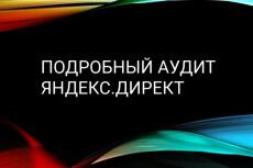 Аудит и оптимизация рекламных кампаний в Яндекс Директ 7 - kwork.ru