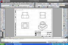Отрисовка в AutoCAD и Corel Draw 45 - kwork.ru