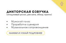 Сведение аудиоролика. Реклама, IVR, Презентация, Инфографика 17 - kwork.ru
