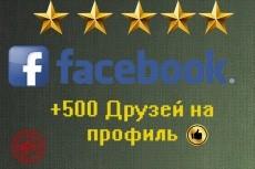 Направлю 1000 участников на вашу группу Facebook 6 - kwork.ru