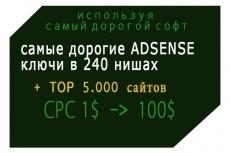 Достану ключевые слова ваших самых успешных конкурентов 13 - kwork.ru