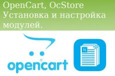 Opencart, OcStore. Установка модуля 9 - kwork.ru