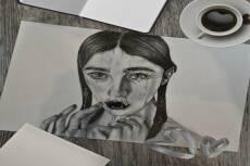 Нарисую портрет акварелью, тушью или карандашом 22 - kwork.ru