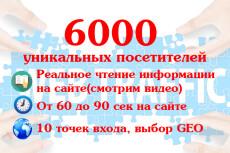Улучшу Ваши поведенческие факторы - 1000 посетителей на сайт 11 - kwork.ru