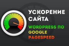 Ускорение сайта Wordpress по Google PageSpeed Insights 5 - kwork.ru