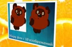 Уберу фон с изображений, Обработаю их для сайтов и других ресурсов 14 - kwork.ru