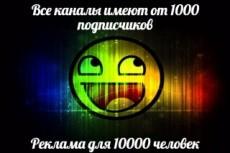 Ссылки на канале ютуб, 100 ссылок 5 - kwork.ru