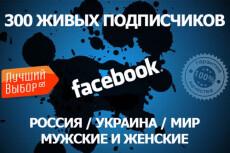 800+ Активных подписчиков в группу или паблик 14 - kwork.ru
