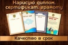 Диплом . Сертификат 14 - kwork.ru
