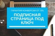 Создам подписную страницу для лид магнита с высокой конверсией 10 - kwork.ru