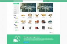 Дизайн сайта 13 - kwork.ru
