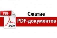 Распознавание, конвертация, редактирование PDF -файлов и изображений 16 - kwork.ru