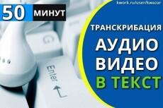 Расшифрую аудио или видео в качественный и грамотный текст 7 - kwork.ru