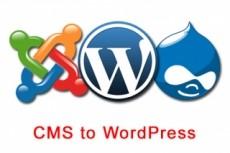WordPress перенос на хостинг, сервер 14 - kwork.ru