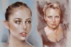 Рисую черно-белые и цветные шаржи 37 - kwork.ru