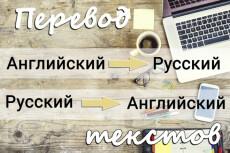 Сделаю перевод текстов с английского на русский и наоборот 11 - kwork.ru