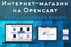 Создам интернет-магазин на Opencart 20 - kwork.ru