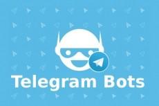 Создам и подключу php бота для telegram 4 - kwork.ru