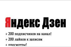 Привлеку 350 подписчиков на Ваш канал в Дзен + 100 like на статьи 14 - kwork.ru