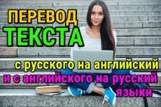 Перевод текстов ru - en, en-ru 33 - kwork.ru