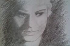 Нарисую портрет по фото в своем стиле 21 - kwork.ru