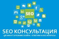 комплексный SEO аудит вашего сайта 3 - kwork.ru