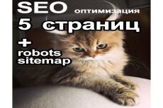 Для SEO правильный Robots. txt и Sitemap. xml 5 - kwork.ru