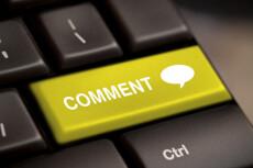 4 комментария в день в течение недели на Ваш сайт 18 - kwork.ru