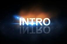 Создам интро (заставку) для Вашего видео 5 - kwork.ru