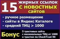 Я вручную размещу двадцать естественных ссылок на сервисе ОтветыMail 9 - kwork.ru