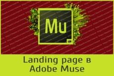 Сделаю красивый сайт на платформе Adobe Muse 38 - kwork.ru
