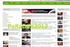 30 премиум сайтов с автонаполнением и бонусами Разные темы на выбор 9 - kwork.ru