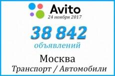 База Москвы по возрастам и полу 16 - kwork.ru