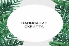 Напишу скрипт продавца 10 - kwork.ru