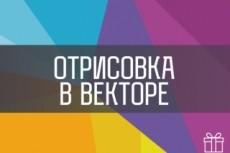 Профессионально отрисую логотип / иллюстрацию 34 - kwork.ru