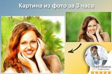 Создам картину по фото, фотомонтаж 7 - kwork.ru