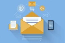 Создание и отправка вашей рассылки через разные сервисы email-рассылок 3 - kwork.ru