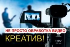 Монтаж видео с обработкой звука 15 - kwork.ru