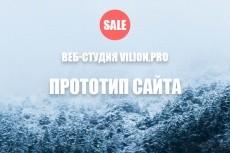Разработаю прототип LP, магазина, сайта, блога 19 - kwork.ru