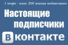 Анализ группы в вк 43 - kwork.ru