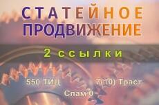 Статейные ссылки на качественных сайтах 23 - kwork.ru