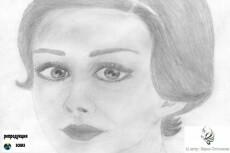 Создание по фото рисунка карандашом 9 - kwork.ru