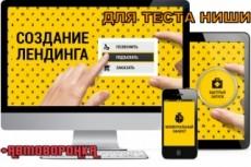 Создам Адаптивный Landing Page 31 - kwork.ru