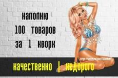 Контент-менеджер и администратор сайта 9 - kwork.ru