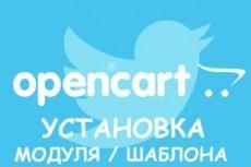 Opencart, Ocstore. Установка шаблона 4 - kwork.ru