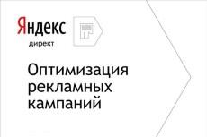 Рабочая настройка Яндекс Директ 11 - kwork.ru