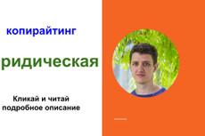Напишу аргументированные юридические тексты 3 - kwork.ru