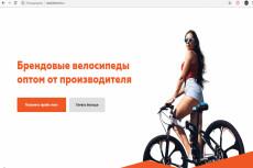 Сделаю копию Landing page, одностраничного сайта, посадочной страницы 21 - kwork.ru
