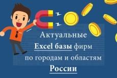 Соберу базу организаций по Вашим критериям из открытых источников 3 - kwork.ru
