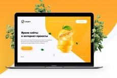Создам макет сайта 40 - kwork.ru